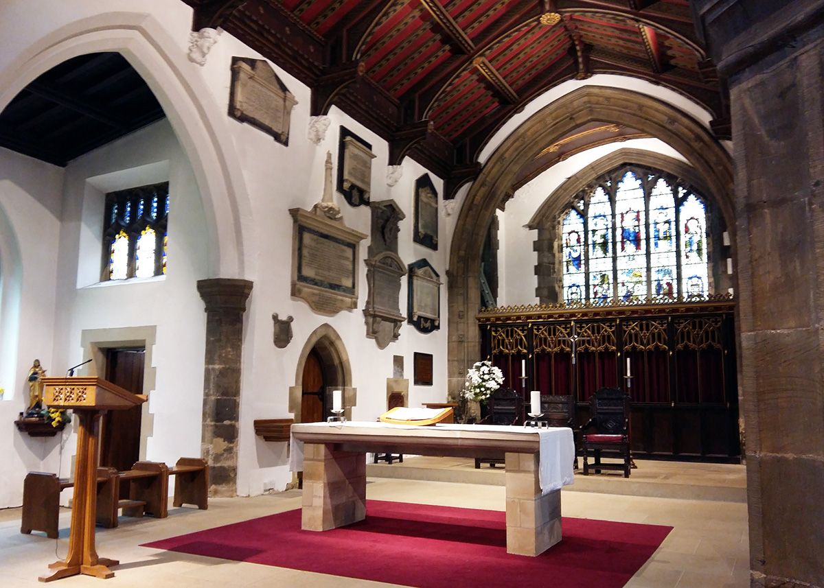 Overton Architects St Mary S Church Whitkirk